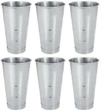 Stainless Steel Tumbler Bulk Milkshake Cup Cocktail Mixing Metal Glass Bulk 6 pc