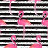 4 Servietten Motivservietten Serviettentechnik Decoupage Pink Flamingos (1185)