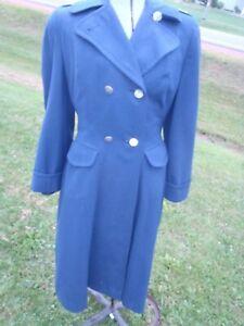 RARE VINTAGE WWII 1940'S WOMEN'S MILITARY USN  NURSE UNIFORM BLUE DRESS JACKET