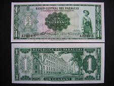 Paraguay 1 guaraní 1952 (p192) UNC rare!