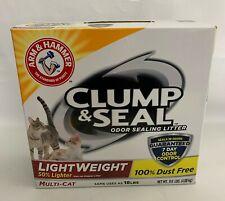 Arm & Hammer Clump & Seal Lightweight Cat Litter Multi-Cat 9Lb Box