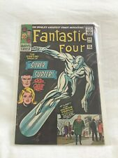 Fantastic Four #50 1966 Silver Surfer Battles Galactus VG 4.0 -  Pence Copy!