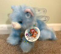 """Aurora 2001 Precious Gem Blue Fairy Plush Cat 10"""" Marnie March"""