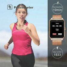 Bluetooth Sports Smart Watch GSM SIM Phone Mate Women For IOS Android Samsung
