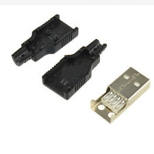 10 pcs USB2.0 Type-A 4-pin Male Plug Socket Connector Adapter jack Cover