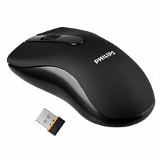 Philips Mouse M200 Wireless Optical USB Mouse with 3 Buttons 1000dpi 2.4Ghz