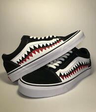 36d0887ef35 Vans Custom Old Skool Vans Bape Shark Teeth Custom Shoes
