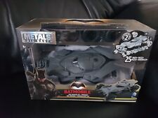 JADA 1:24 NEW BATMAN V SUPERMAN MOVIES BATMOBILE MODEL KIT BLACK DIECAST 97395