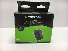 NEW Enercell 85W Foreign Travel Voltage Converter Model plug 220v to 110v Europe