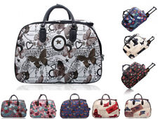 New Cabin Wheeled Butterfly Print Carry-on Trolley Suitcase Travel Luggage Bag