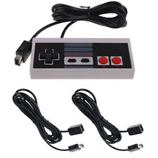 Controller Gamepad and 2 Extension Cables For Nintendo NES Mini Classic Console