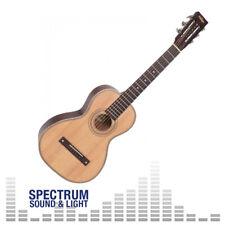 More details for vintage viator acoustic travel guitar with carrying bag [vtr800pb]
