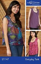 EVERYDAY TANK Women's Top Pattern by Indygo Junction Sz XS - 3XL