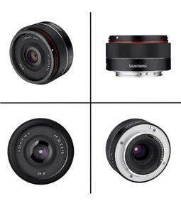 Samyang AF 35mm f2.8 FE Pancake Lens - Sony FE Fit New Sealed