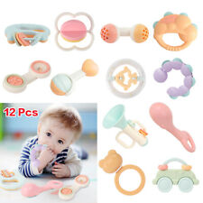 Baby Rattles Teethers Set Electronic Rattle Shaker Infant toy Bpa Free with box