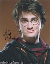 Daniel Radcliffe Harry Potter 2 Preprinted Hand Signed Autograph Photos 8x10 NEW