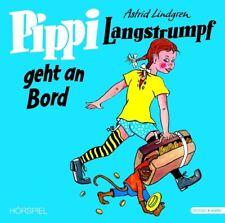 ASTRID LINDGREN - PIPPI LANGSTRUMPF GEHT AN BORD  VINYL LP + CD NEW+