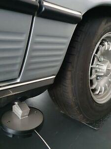 NEU* RETROYAGE Hebebühnenadapter für Mercedes Benz W107 W114 W115 W116 W123