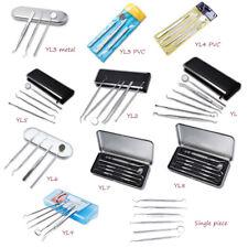 Stainless Steel Dental Set Dentist Teeth Oral Clean Kit Probe Tweezers Tools Set