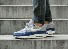 Nike Air Max 1 Grey/Blue UK Size 8.5 AH8145 008
