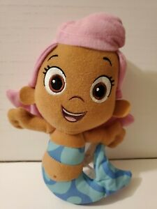 Nick Jr Bubble Guppies Molly Plush Stuffed Animal Mermaid Soft Toy Doll