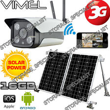 Solar Farm Camera 3G GSM IP Alarm System Home Wireless Security Remote Monitor