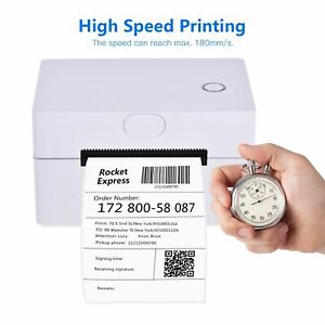 Thermal Label Printer 3 inch High Speed USB Windows All Labels Supported