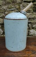 Collectable c1950's Vintage Blue 1 Gallon Paraffin Can Dispenser