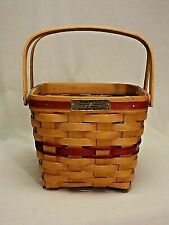 Longaberger Christmas Basket. 1995 Cranberry Basket