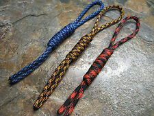 (3) PACK PARACORD KNIFE PULL LANYARDS NOOSE USA MADE