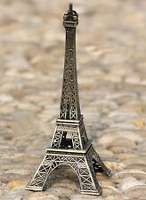 Vintage Eiffel Tower Paris France Souvenir Metal Model 38cm 15""