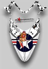 Polaris IQ RMK Shift Dragon Graphics Decal Sticker Kit 05-12 Aircraft Pinup Hood