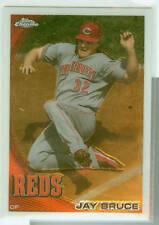 Jay Bruce Cincinnati Reds 2010 Topps Chrome Card