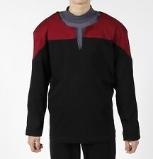 STAR TREK Captain Uniform deluxe Voyager rot XXL Rarität neu.