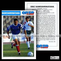 RABESANDRATANA ERIC (AS NANCY-LORRAINE) - Fiche Football 1992
