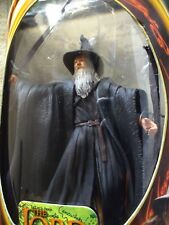 """ToyBiz Lord of the Rings Fellowship of the Ring - Gandalf Action Figure 7""""+ NEW"""