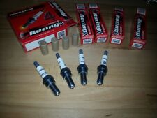 4x Brisk AOR10LGS-WC = High Performance Motor Cycle Silver LGS Spark Plugs + Bhp