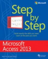Microsoft Access 2013 Step by Step (Paperback or Softback)