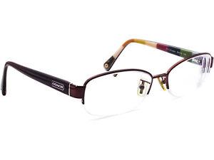 Coach Eyeglasses HC 5004 Bettie 9032 Purple Half Rim Frame 53[]16 135