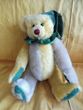 Deans James The Jester 12� Fully Jointed Mohair Bear