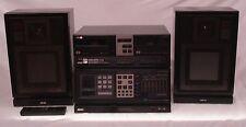 Retro Vintage Akai AV-M313 Stereo System -Amp+Tape Deck