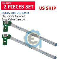 2X USB Charging Port Board JDS-040 for SONY PS4 Controller + 12 pin CABLE A223