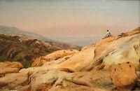oil painting Mount Desert Island Maine by Jervis McEntee wonderful landscape art