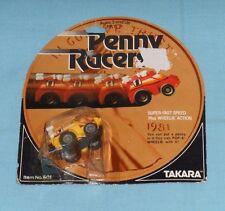 vintage Takara Penny Racers PENNY RACERS yellow FORMULA 1 MOC