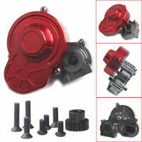 Metall Komplett Transmission Gearbox Getriebe Gear Für 1/10 Axial SCX10 RC Car