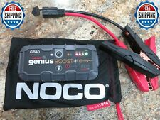 NOCO Genius Boost Plus GB40 1000 Amp 12v UltraSafe Lithium Jump Starter FREESHIP