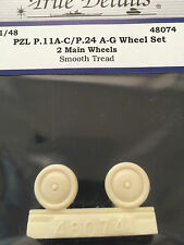 True Details PZL P.11A-C / P.24 A-G Wheels TD48074
