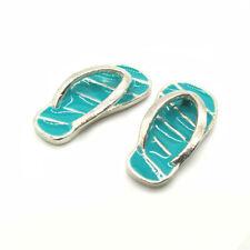 Dollhouse Pair of Slippers Flip-Flops 1:12 Miniature Decor Accessories C