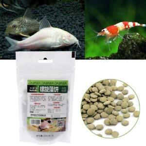 Aquarium Spirulina Algae Wafers Tablets Tropical Fish Delicious Food Feeding