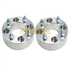 """(2) 5.0"""" (2.5"""" per side) Wheel Spacers 4x4 to 4x4 for Yamaha Golf Cart M12x1.25"""